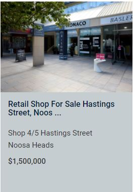 Commercial Business for Sale Noosa Heads QLD 4567